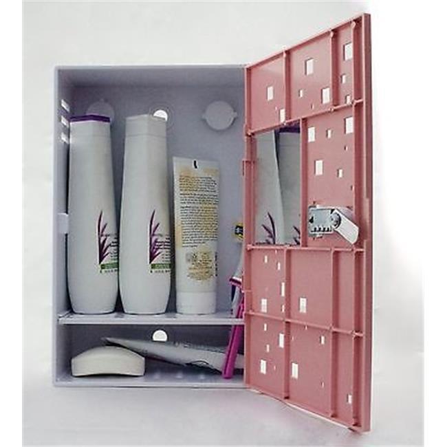 ... The Shlocker, Waterproof Shower Locker Caddy. Triple Combination Lock  Box Shower Storage With Rust