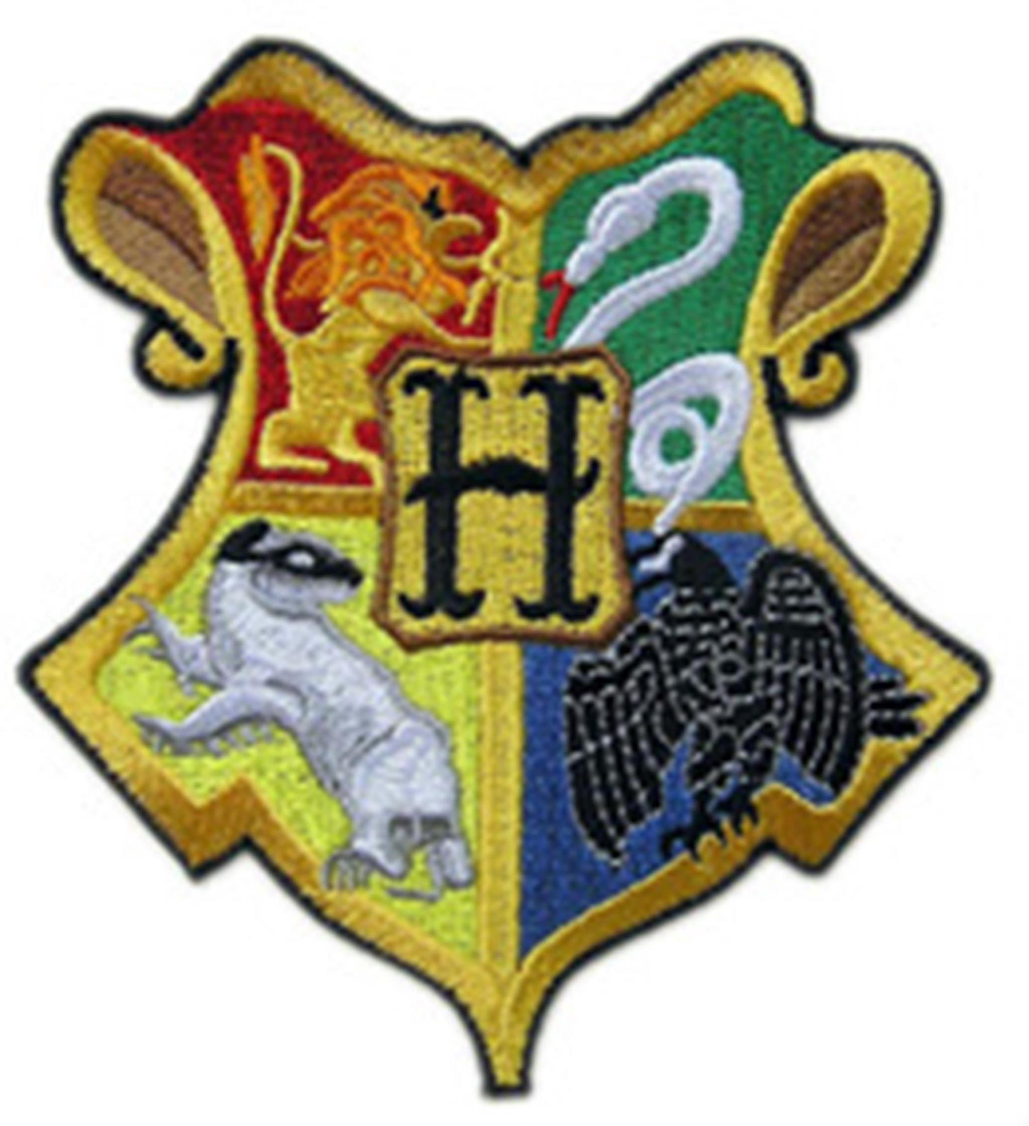 "Superheroes Harry Potter Gryffindor House Crest Hogwart 3.5"" Embroidered Iron/Sew-on Applique Patch"