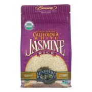 (6 Pack) Lundberg Family Farms Essences Organic California White Jasmine Rice, 2 Lb