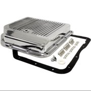 Chevy/GM Turbo TH-350 Aluminum Transmission Pan Kit - Polished