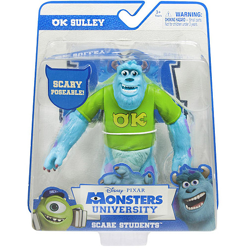 Monsters University Scare Students Action Figure, Sulley, Version 2