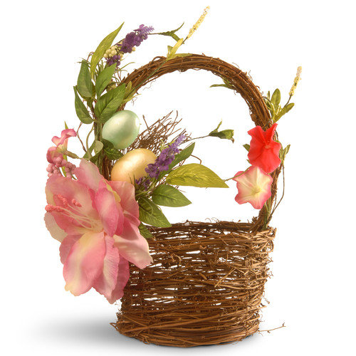National Tree Co. Tulips and Eggs Easter Basket