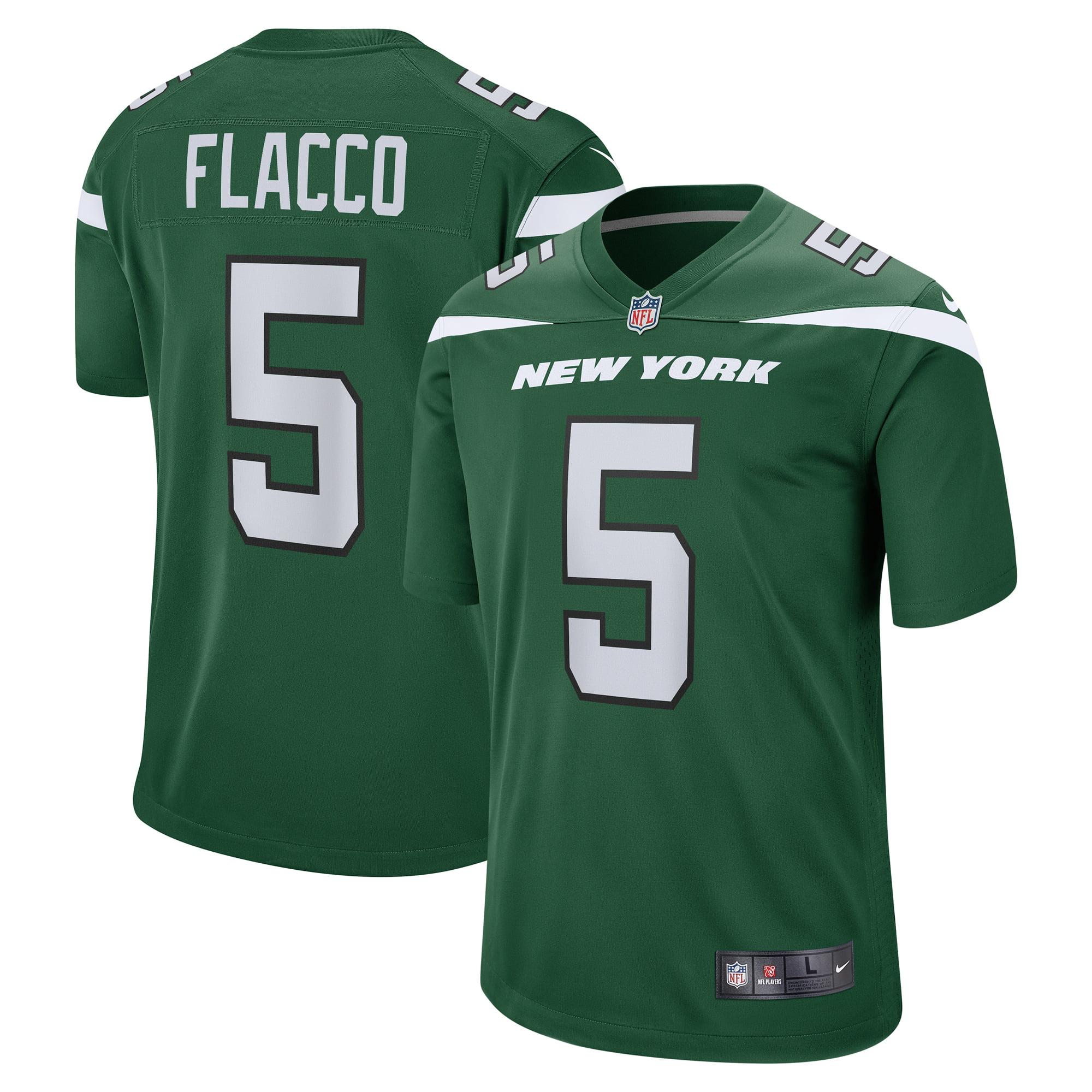 Joe Flacco New York Jets Nike Game Jersey - Gotham Green - Walmart.com