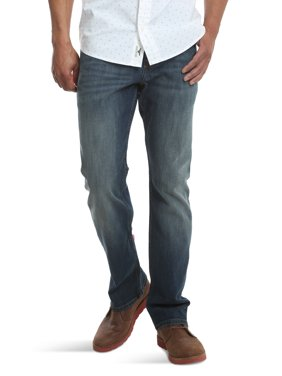 Wrangler Men's Fashion Slim Straight Denim Jean