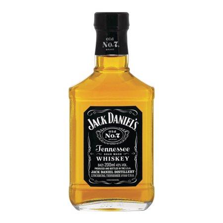 Jack Daniel\'s Tennessee Whiskey, 200 mL - Walmart.com