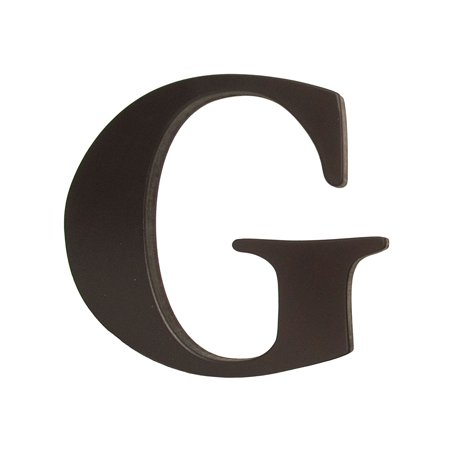 Espresso Wooden Letter G Nursery Decoration, Wooden letters are 8 inches tall and five-eighths inch thick; width varies by letter, but allow approximately 8-9.., By Little Haven Ship from (Wooden Hanging Letter Baby Nursery)