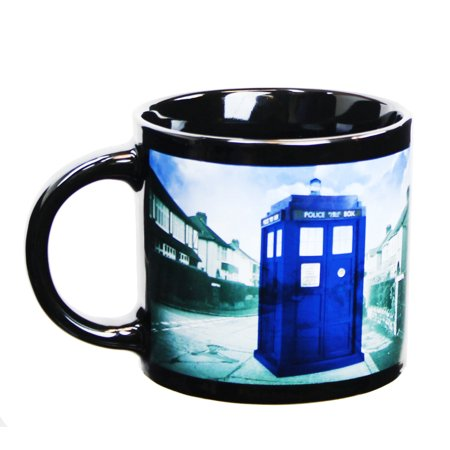 Doctor Who Disappearing TARDIS 12oz Coffee Mug