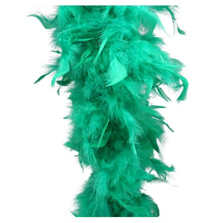Green Feather Boa (6', 60 grams)](Green Feather Boas)