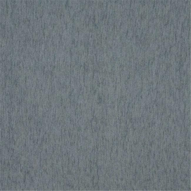 Designer Fabrics A854 54 in. Wide Nordic Blue, Solid Chenille Upholstery Fabric