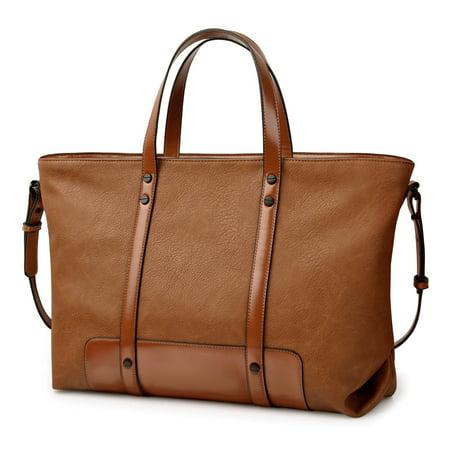 Vbiger Fashion Large Capacity Tote Handbag Purse Top Handle Shoulder Cross Body Bag For Women