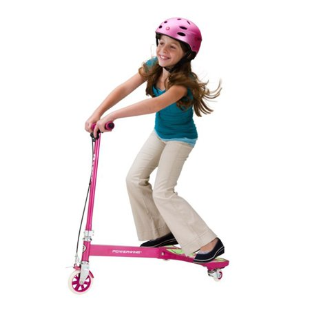 Razor PowerWing 3 Wheel Inclined Caster Scooter, Sweet Pea Pink | 20036065