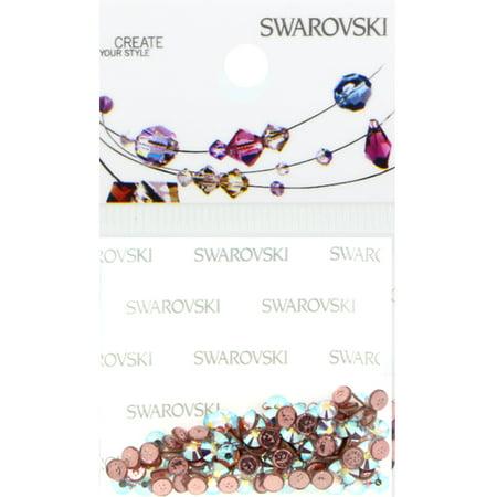 Swarovski 2038 Hot Fix Rhinestones FlatBack 10ss Crystal AB 100 pcs