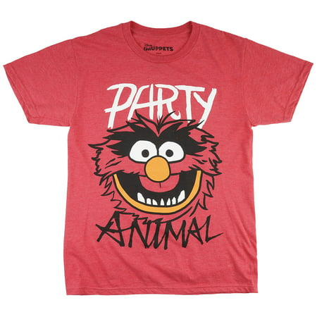 Mens Animal Muppets T Shirt (Muppets Party Animal T-Shirt)