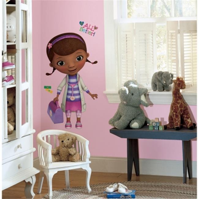 RoomMates RMK2283GM Doc McStuffins Peel & Stick Giant Wall Decals