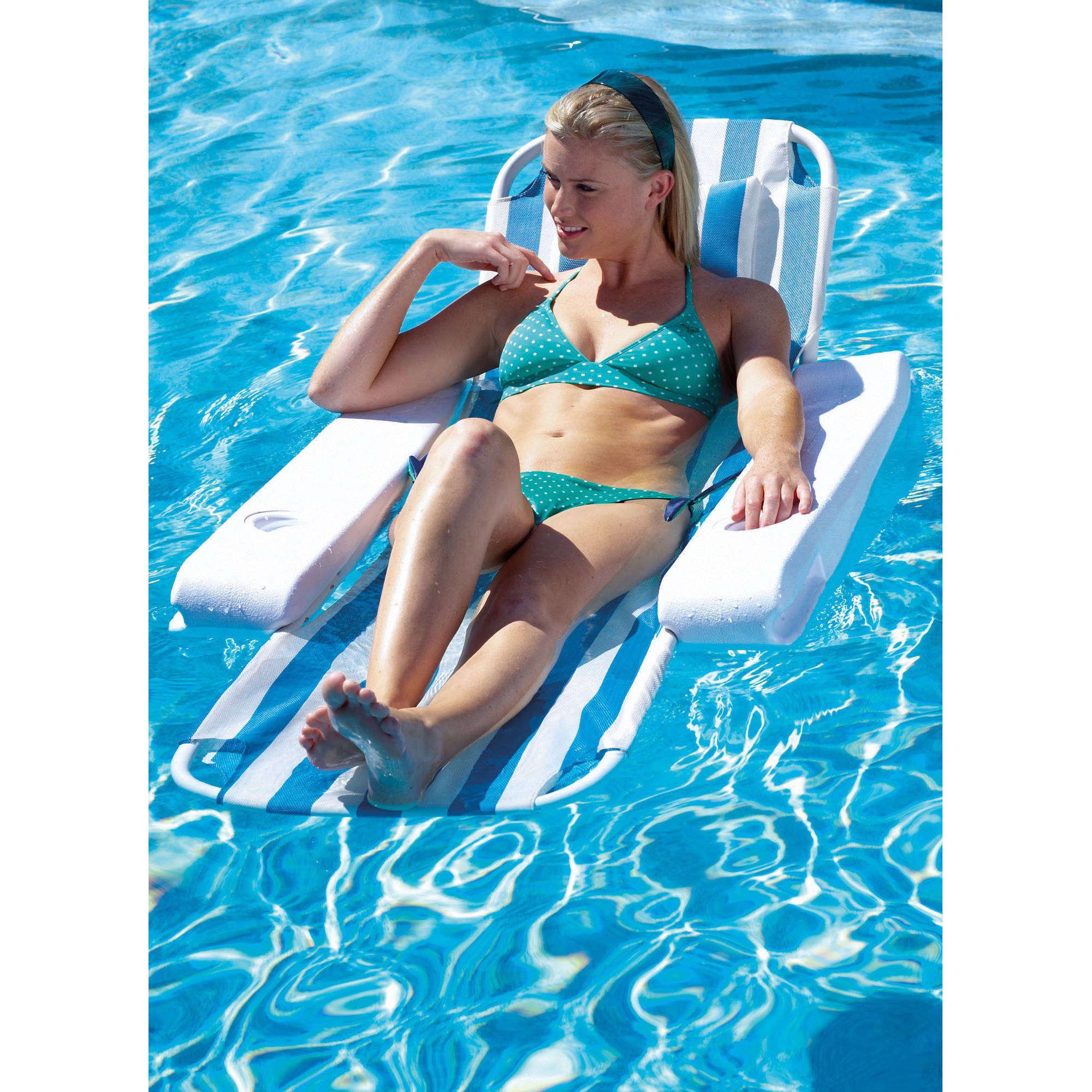 Ocean Blue Zen Tranquility Lounger for Swimming Pools