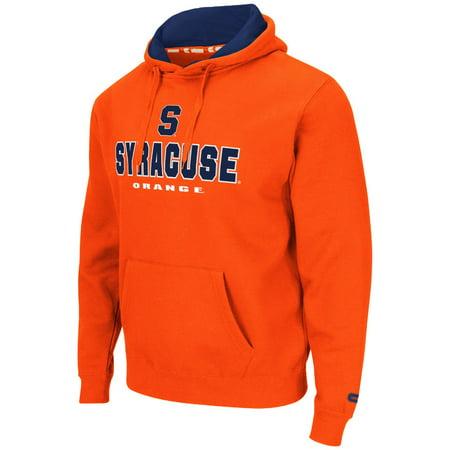 Syracuse Orange Ncaa  Zone Ii  Pullover Hooded Mens Sweatshirt   Orange
