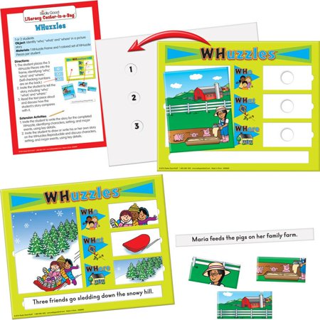 Really Good Literacy Center™: Whuzzles (Instant Literacy Center)
