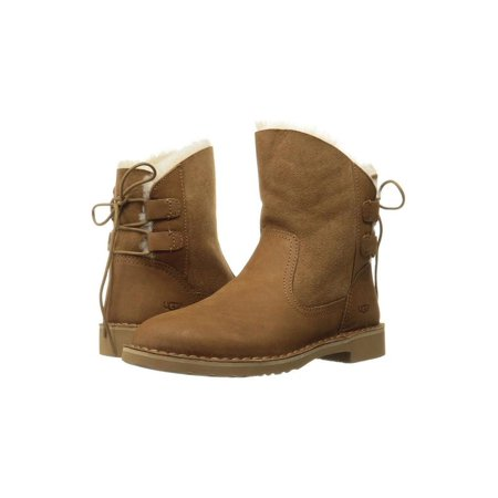 Ugg Shoe Size Chart (UGG Naiyah Women's Shoes Contrasted Lace Back Boot 1019164)