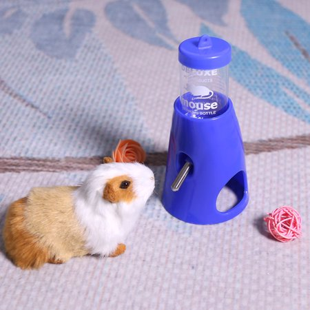 Ejoyous Plastic Leak-proof Hamster House Drinking Waterer 2-in-1 Pet Water  Bottle, Plastic Water Bottle, 2-in-1 Water Bottle