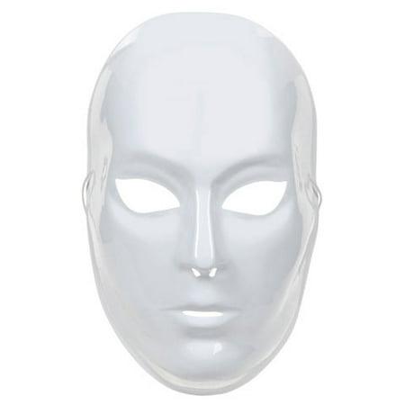 Full Face Mask - White