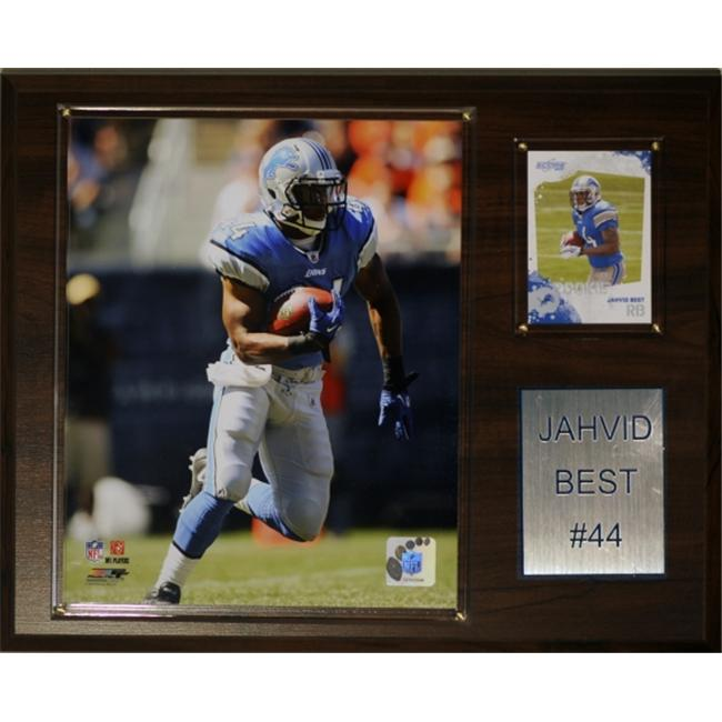C & I Collectables 1215JBEST NFL Detroit Lions Player Plaque