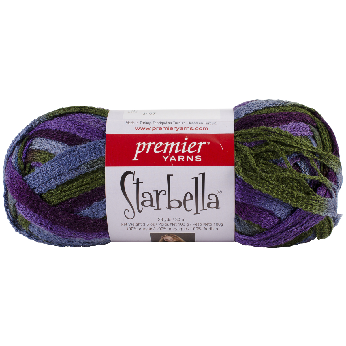 Starbella Yarn, Purple Rain