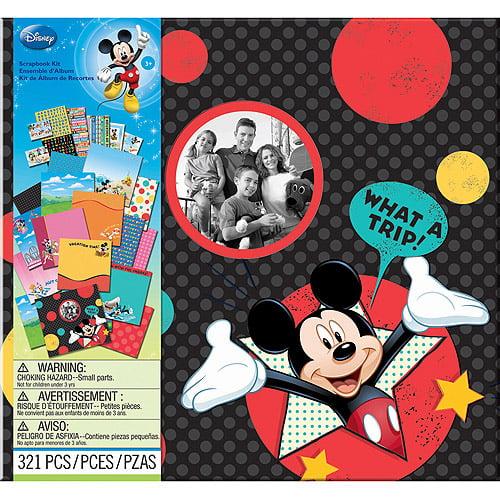 "Disney Vacation 12"" x 12"" Scrapbook Kit"