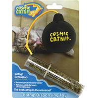 Ourpets Company Catnip Explosion Toy Bomb, Vinyl, Refillable