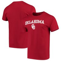 Oklahoma Sooners Russell Athletic Core Crew Print T-Shirt - Crimson