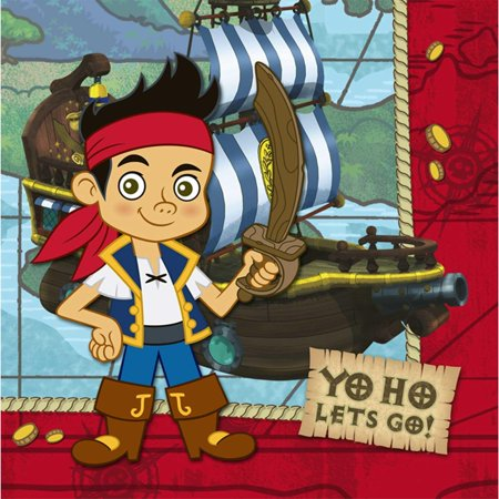 Disney Jake and the Never Land Pirates Lunch Napkins