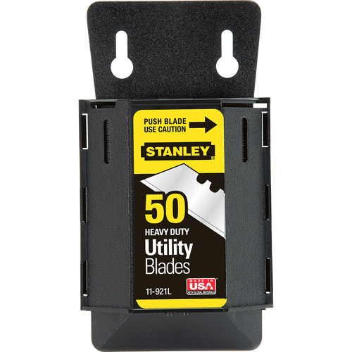 Stanley Hand Tools 11-921L 50-Pack 1992 Heavy-Duty Utility Blades With Dispense