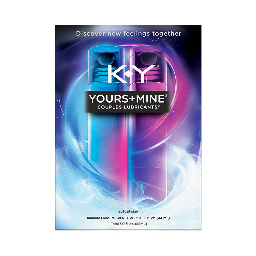 K-Y® Date Night® Yours + Mine® Couples Lubricants® 3.0 fl. oz. Bottles 6798108892