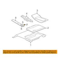 JEEP OEM 52126103AB Jack Assembly Turnbuckle