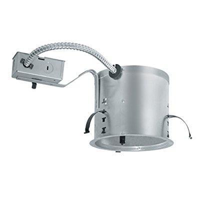 Incandescent Shallow Ic Trim - juno lighting ic21r 6-inch ic rated shallow incandescent universal remodel housing