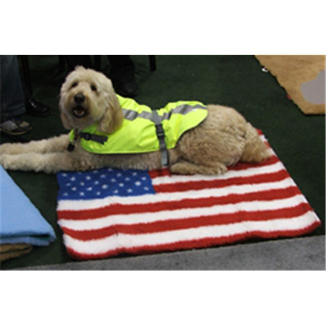 American Pet Diner 021FLUS4030 Vet Bed USA Flag 40 in. x 30 in.