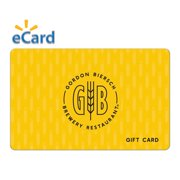 Gordon Biersch $50 Gift Card (Email Delivery)
