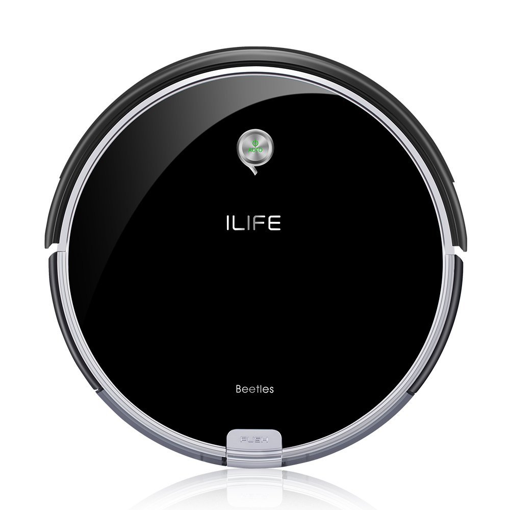ILIFE A6 Robotic Vacuum Cleaner With Deep Clean Dual Roll Brush and ElectroWall For Coverage Completely
