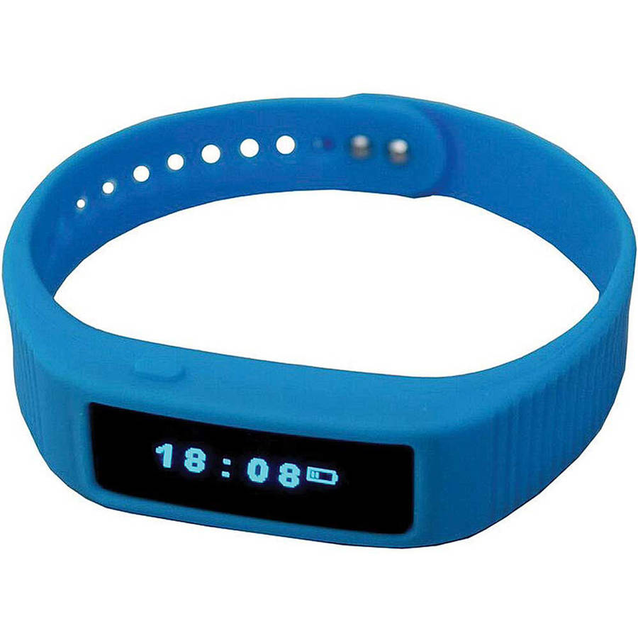Wiltronic iView Blue Smart Wrist Fitness Band