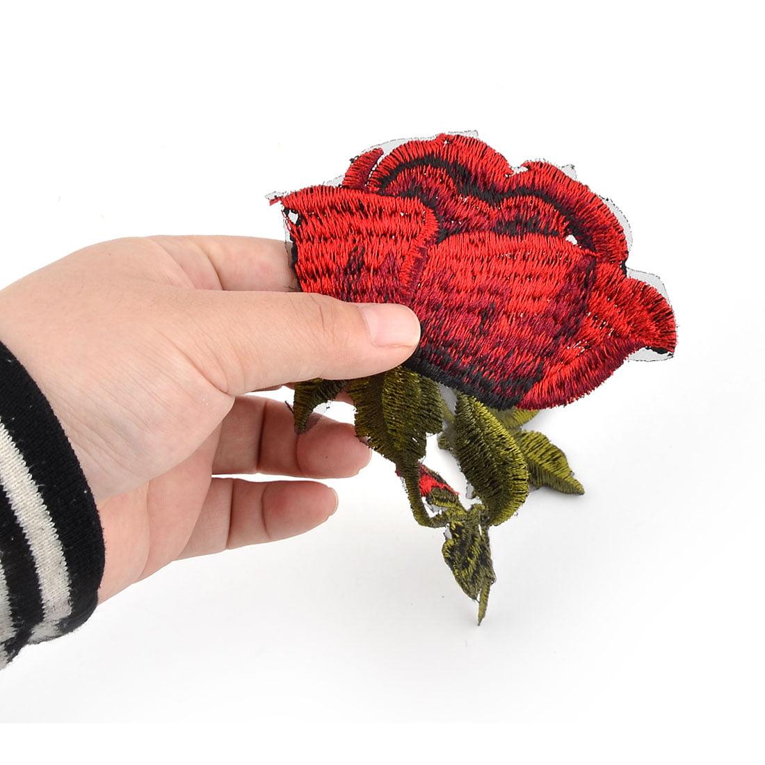 Unique Bargains Household Polyester Rose Design DIY Clothes Neckline Bag Ornament Lace Applique - image 3 of 4