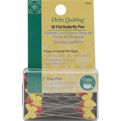 Arts, Crafts & Sewing Straight Pins Dritz 12 Ball Point Pins 350 ...
