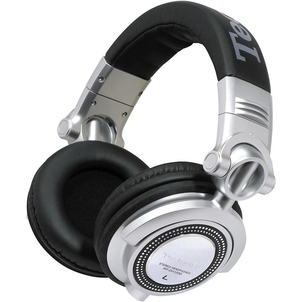 PANASONIC RP-DH1250-S DH1250 Technics Professional DJ Headphones with Detachable Microphone & Controller
