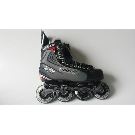 Bauer RH XR: Glide Skate Senior Roller Hockey Skates, Size 8 by