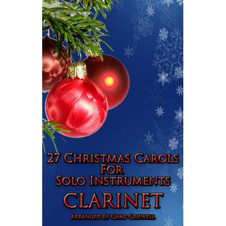 27 Christmas Carols For Clarinet - eBook
