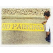 """No Parking - Parking Lotstencil 12"""" Charact"""