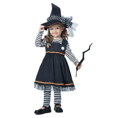 Toddler Witch Costume Uk (Girls and Toddler Crafty Little Witch)