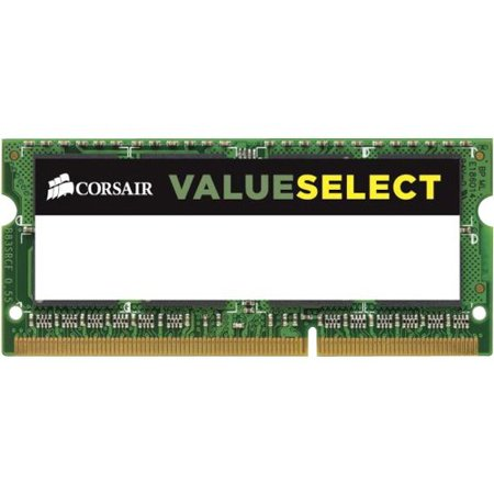 corsair value select - ddr3l - 2 gb - so-dimm 204-pin - 1600 mhz / pc3-12800 - cl11 - 1.35 v - unbuffered -