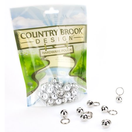 Country Brook Design® 1/2 Inch Cat Jingle Bells (Jiggle Bells)