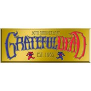 C&D Visionary Grateful Dead Text Heavy Metal Sticker