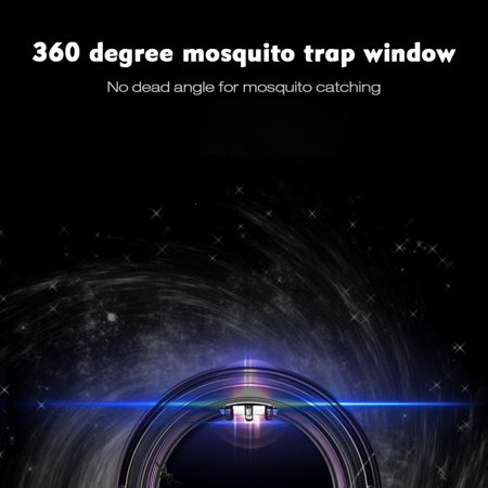 LED Electric Mosquito Killer Lamp Indoor Outdoor Trap No Noise No Radiation USB Power Supply, Suction Fan,Photocatalytic UV Light - image 4 of 7