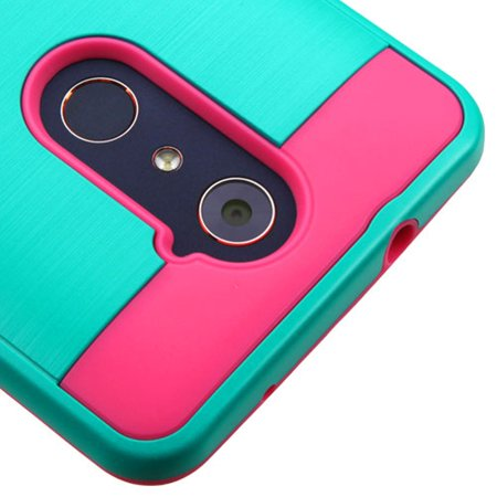 ZTE Grand X Max 2 Phone Case, ZTE Grand X Max 2 Case, by Insten Hard Dual Layer TPU Case For ZTE Grand X Max 2/Imperial Max /Kirk/Max Duo 4G/Zmax Pro case cover - image 2 of 3